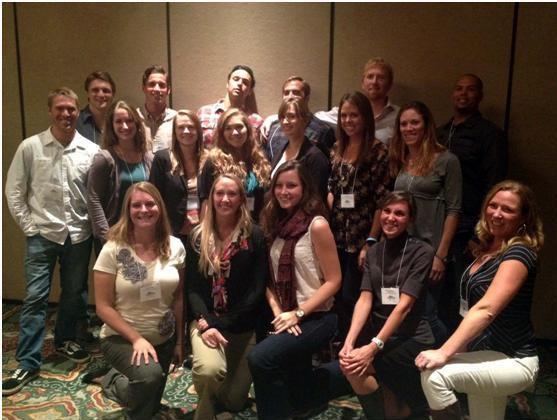 Smith & Sandin Lab at the WSN conference