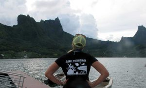 Representing the Smith coral reef ecology lab in Moorea, French Polynesia.